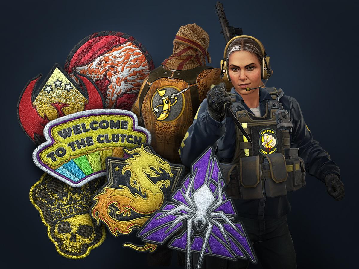 Редица ново въдени нашивки за моделите на персонажите в Counter-Strike: Global Offensive