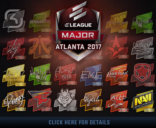 Atlanta 2017 – Tournament Items