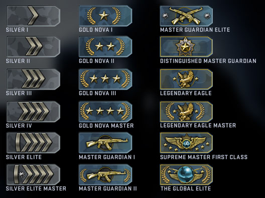 Counter Strike Global Offensive Competitive Skill
