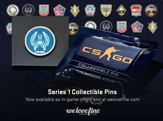 Как получить collectible pins capsule series
