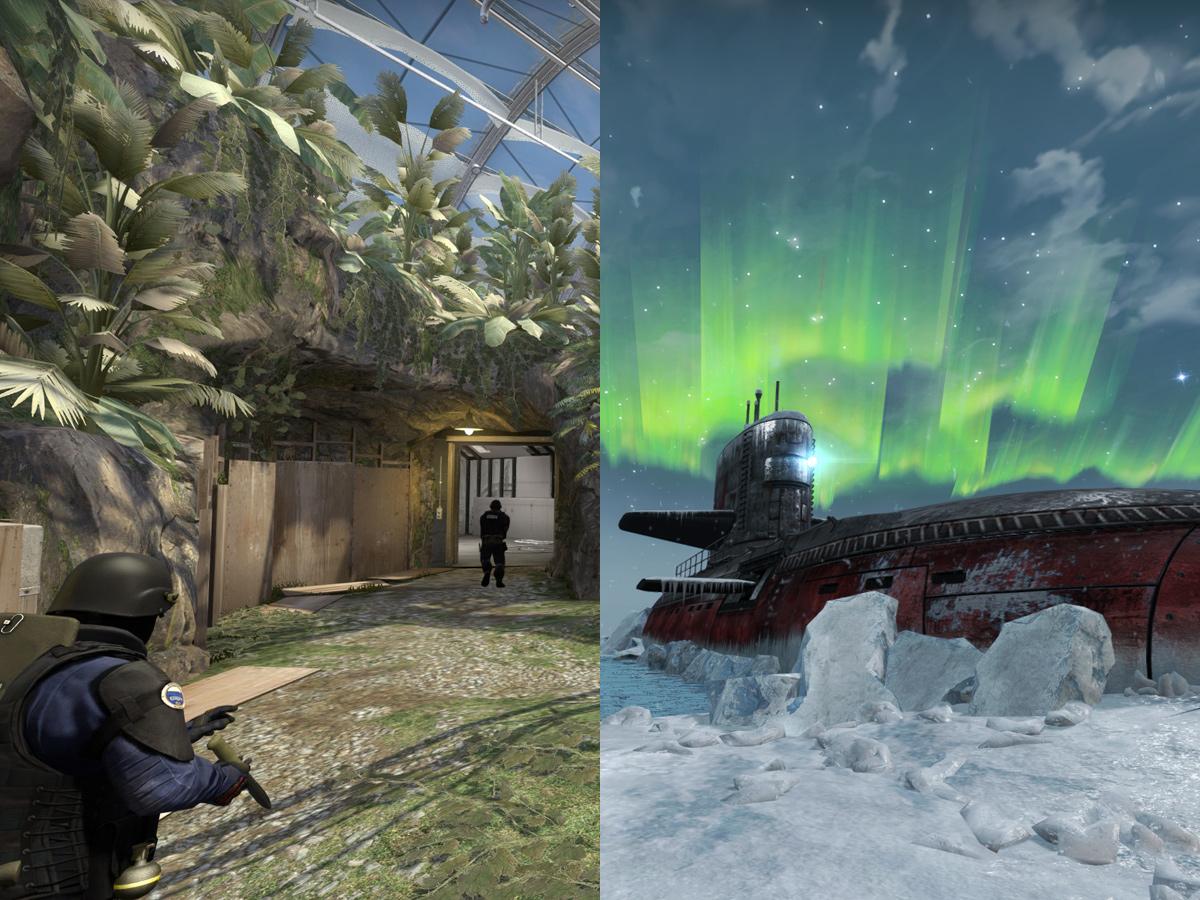 CS:GO картите Biome и Subzero