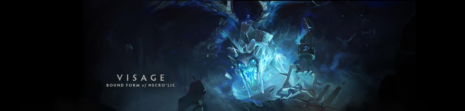 Visage Dota 2 'Bound form' of Necro'...