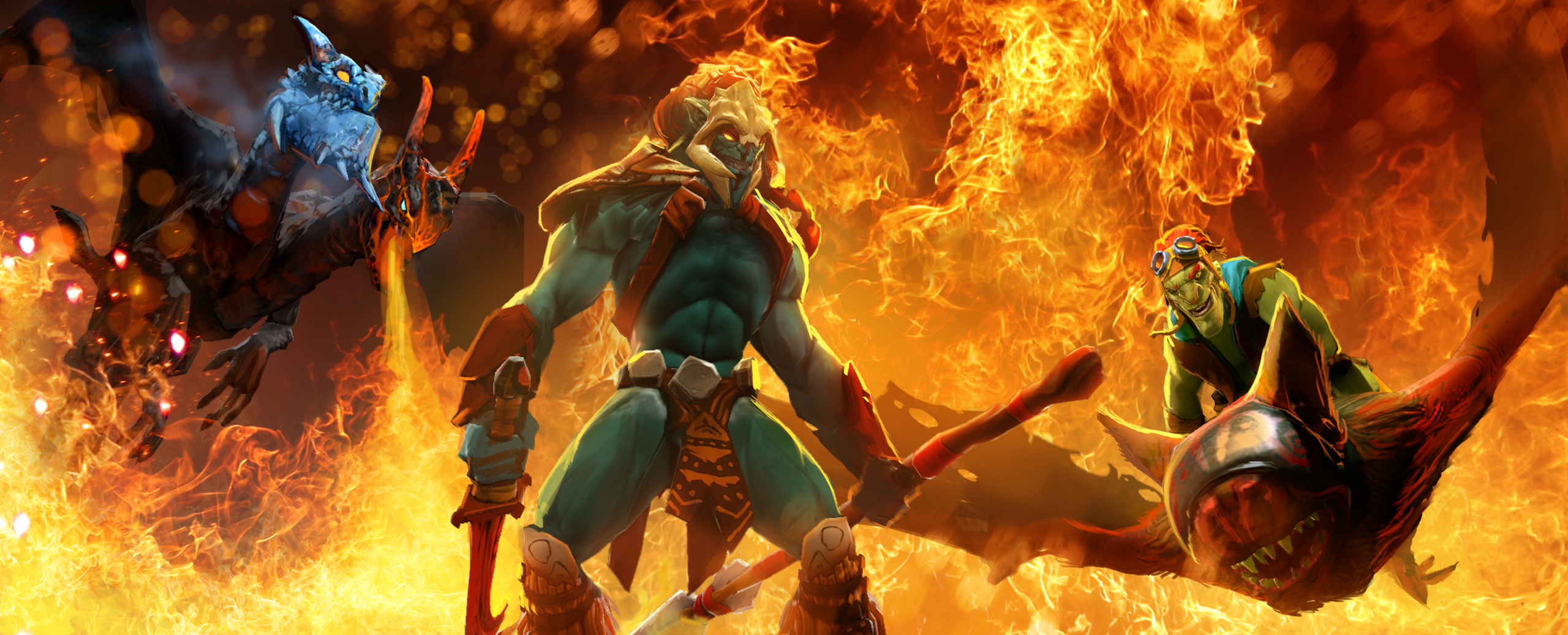 Dota 2 News Dota 2 Welcomes 3 New Heroes And Commendation Feature GosuGamers