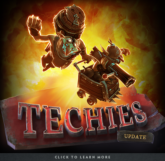 Step Lightly The Techies Update Dota 2