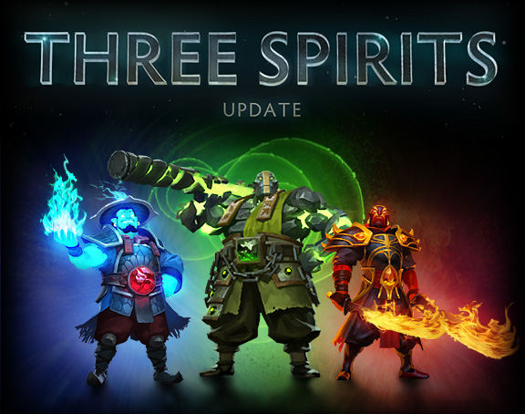 DOTA 2 - Three Spirits Update