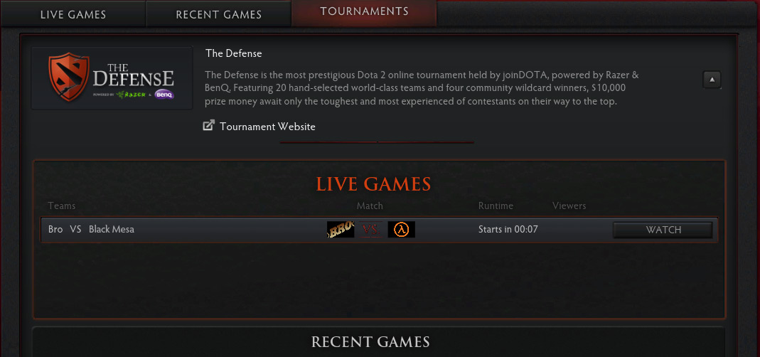 The Defense Dota 2