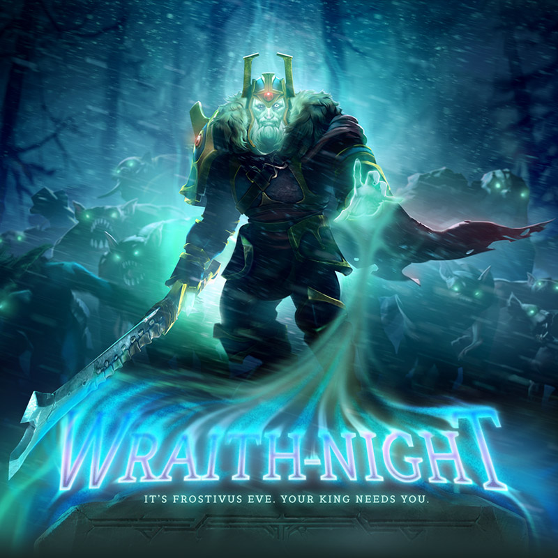 dota 2 wraith night