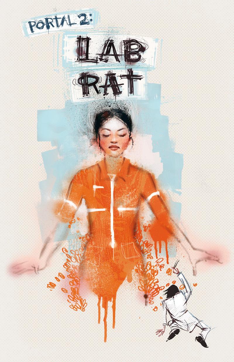 Resultado de imagem para lab rat comic