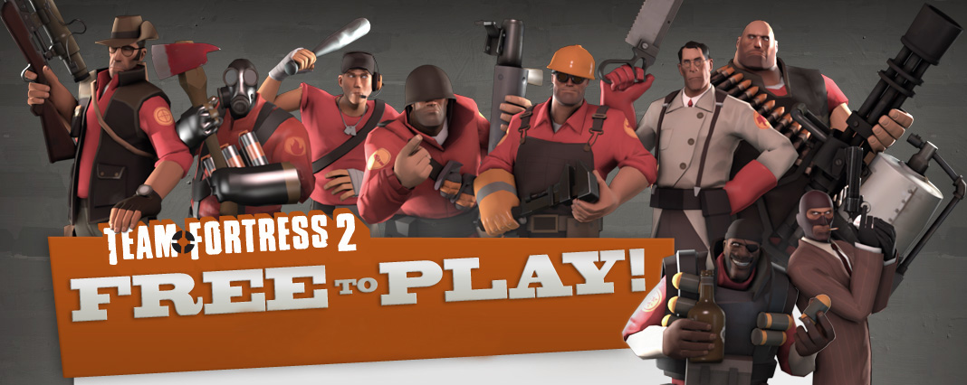 Team Fortress 2 free to play video games