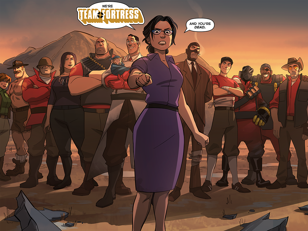 allen and page meet the team fortress