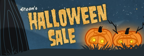 News   STEAM HALLOWEEN SALE ON NOW