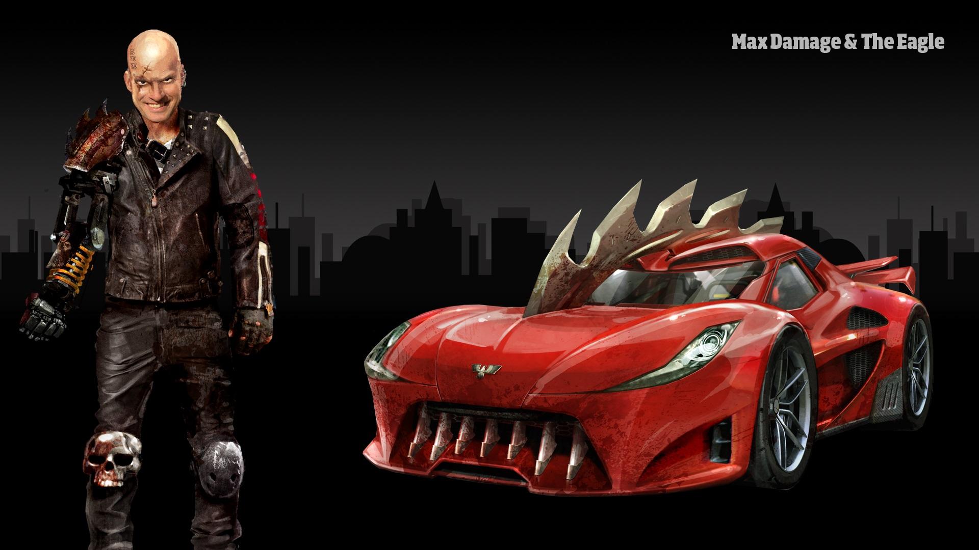 carmageddon how to drive annihilator